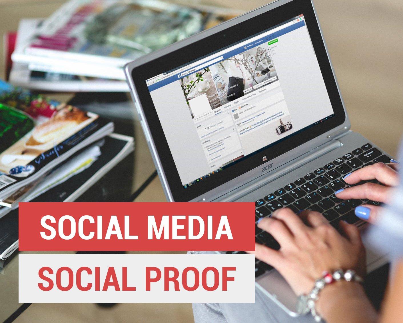social proof on social media
